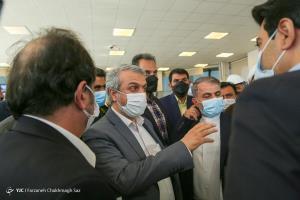 عکس/ بازدید وزیر صمت از مجتمع ذوب آهن پاسارگاد