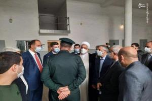 تصویری از بازدید دادستان کل کشور از زندان «آرماویر» ارمنستان