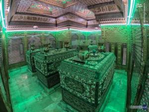 تصاویری زیبا از داخل ضریح مطهر امام حسن عسکری(ع)