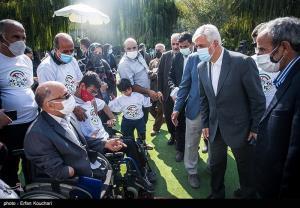 برگزاری مراسم روز ملی پارالمپیک با حضور وزیر ورزش