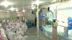 میزبانی مسجد مقدس جمکران از دختران ۹ ساله