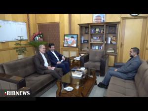 نشست مشترک استاندار اردبیل با سفیر ایران در جمهوری آذربایجان