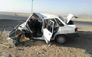 واژگونی پراید در محور دامغان - شاهرود ۵ مصدوم داشت