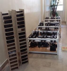 شناسایی و کشف ۵۸ دستگاه ماینر از واحد صنعتی در غرب تبریز