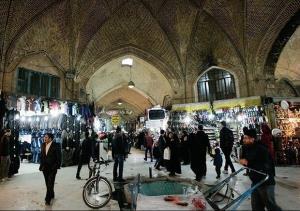 خطر حریق در کمین بازار تاریخی اراک