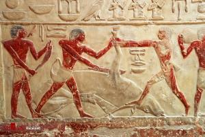 نقاشیهای برجسته در آرامگاههای باستانی مصر