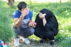 عکس/ قفل دست زن و مرد در حاشیه دستگیری سارقان و زورگیران تهران