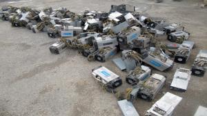 کشف ماینرهای قاچاق در یک کارگاه یزد