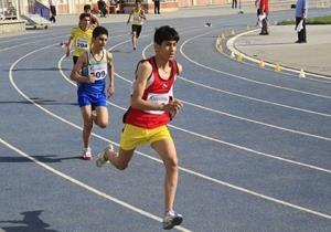 دونده استان سمنان مقام سوم مسابقات نونهالان کشور را کسب کرد