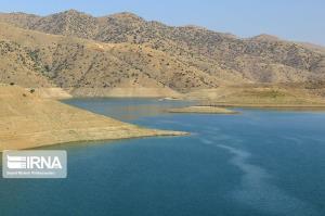 حجم آب سدهای کردستان بیش از ۲۶ درصد کمتر شد