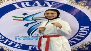 کسب سهمیه بانوی گیلانی برای رقابتهای جهانی کاراته