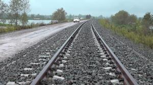 پیشرفت ۷۰ درصدی خط آهن رشت-بندرکاسپین