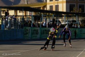 عکس/ مسابقات اسکیت سرعت انتخابی تیم ملی بانوان
