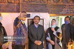 سلفی با وزیر میراث فرهنگی، گردشگری و صنایع دستی در اردبیل