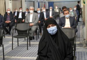 حضور زینب سلیمانی در حسینیه امام خمینی(ره)