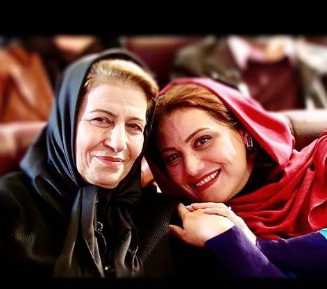 تبریک تولد احترام برومند توسط شبنم مقدمی: تولدتون مبارک ما خانم جان...