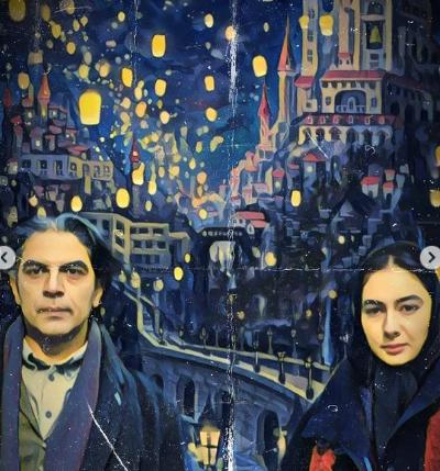 تصویرسازی زیبا از فیلمهای ایرانی با نقاشی های معروف جهان