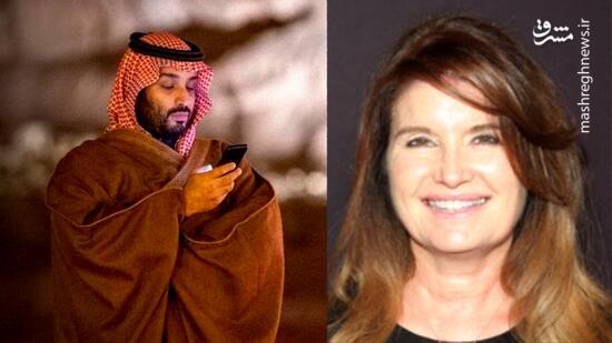 رسوایی اخلاقی بن سلمان با یک بازیگر آمریکایی