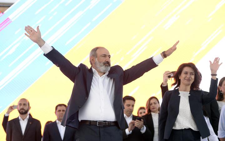 فیلم | پاشینیان در انتخابات پارلمانی ارمنستان پیروز شد
