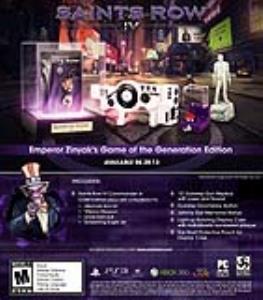 نسخه Game of the Generation بازی Saints Row 4 رونمایی شد