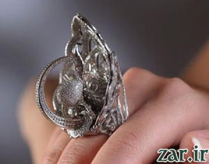ترین ها/ رکورد بیشترین تعداد الماس بر روی انگشتر