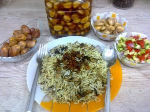 غذا سفری/ «امگشت» غذای محبوب خوزستانی ها