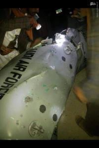 سرنگونی یک جنگنده سعودی توسط رزمندگان یمنی
