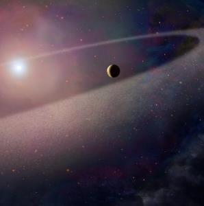 عکس روز ناسا/ شیرجه یک دنبالهدار در یک ستاره کوتوله سفید
