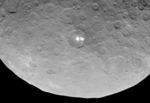 معمای لکه های سفید سیاره کوتوله Ceres حل شد
