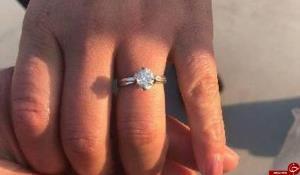 پیدا شدن انگشتر الماس ۱۶۰۰۰ دلاری زن چینی از میان سیزده تن زباله!