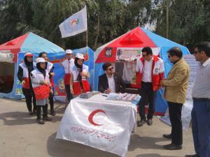امدادرسانی هلال احمر فارس در نوروز به ۸۹۳ حادثه دیده
