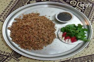 ارده پلو خوزستانی یک پیشنهاد جالب برای ناهار