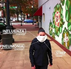 شال هوشمندی که آلودگی هوا را فیلتر میکند