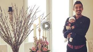 روپایی زدن رضا قوچاننژاد در حضور فرزند خردسالش دوران