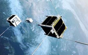ماهوارههایی به اندازه قرص نان به آسمان میروند