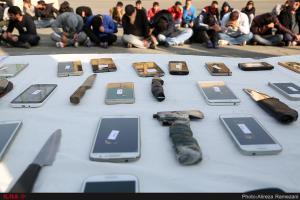 دستگیری باند سارقان خشن