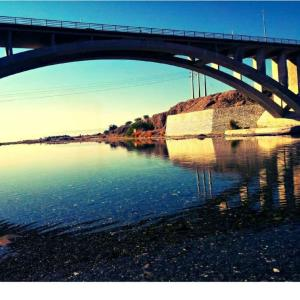 پل آبنما رودان بهشت جنوب