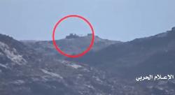 انهدام تانک مزدوران سعودی توسط رزمندگان یمنی