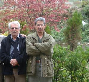 چهره ها/ آقای حکایتی در کنار مرحوم داود رشیدی