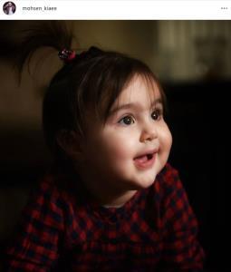 چهره ها/ دلنوشته «محسن کیایی» برای یک سالگی دخترش