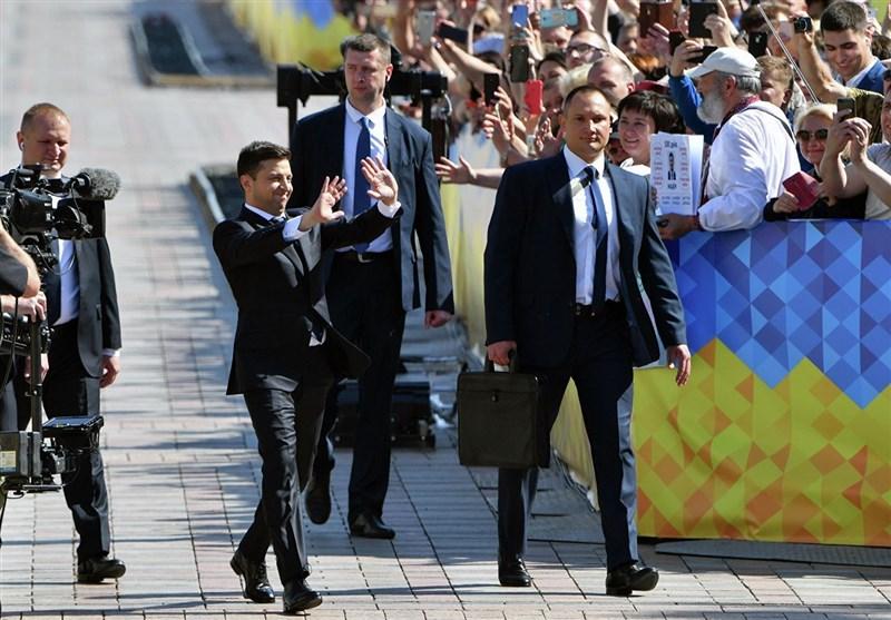 رئیس جمهور اوکراین برای روسیه شمشیر را از رو بست