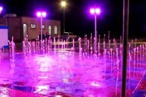آبنمای ماتریسی پارک شهر گرگان برای بازی کودکان ساخته نشده است