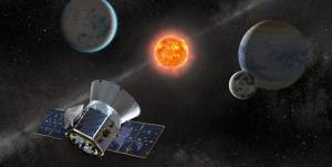 شناسایی ابرنواختر کوتوله سفید توسط ماهواره تس
