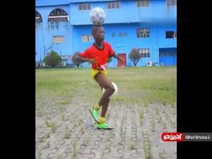 مهارت فوق العاده پسربچه 11 ساله در روپایی زدن