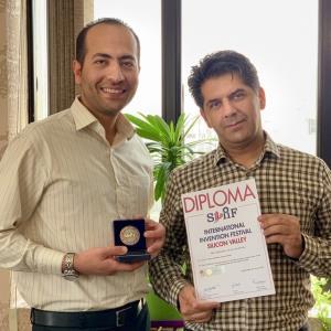 مخترعی که به او ویزا داده نشد اما مدال نقره «سیلیکونولی» را کسب کرد