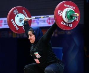 وزنهبرداری قهرمانی جهان/ بانوی ایرانی ششم شد