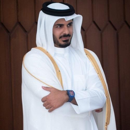 حضور برادر امیر قطر در جزیره ابوموسی