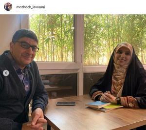 چهره ها/ دیدار مژده لواسانی با مصطفی مستور