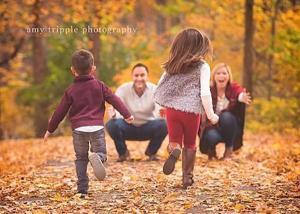 ژست های عکاسی خانوادگی در فضای باز
