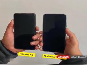 مقایسه سرعت فناوری تشخیص چهره ردمی نوت 8 پرو با Realme X2